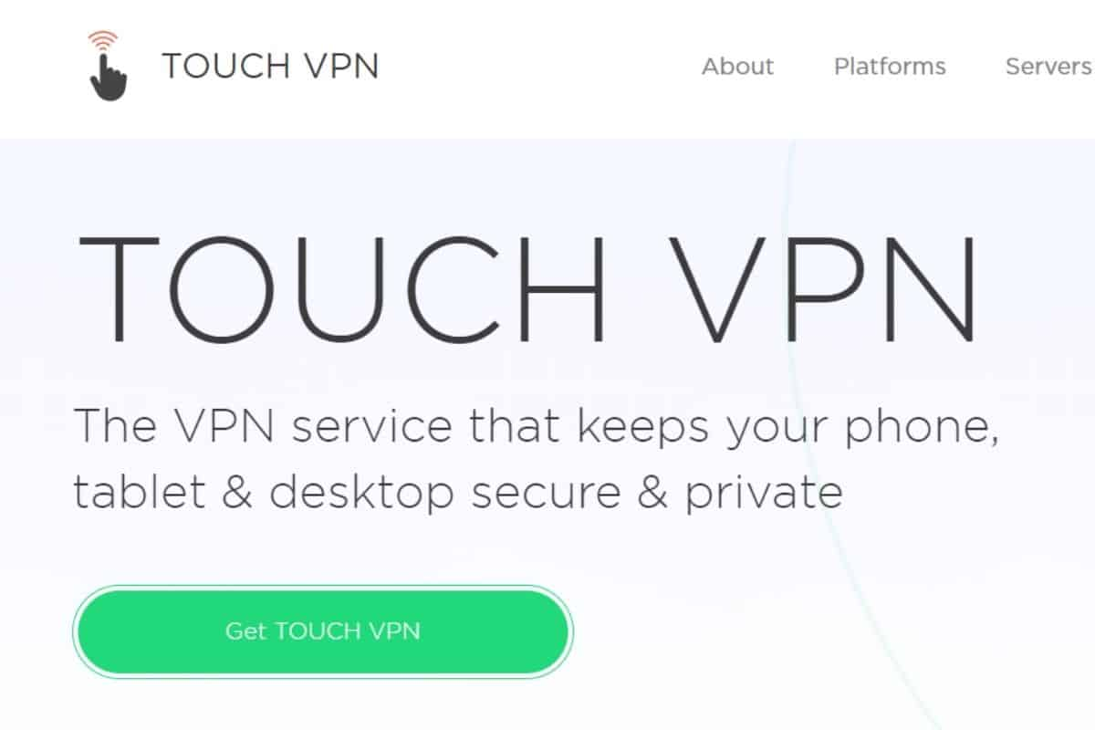 Touch VPN 評價