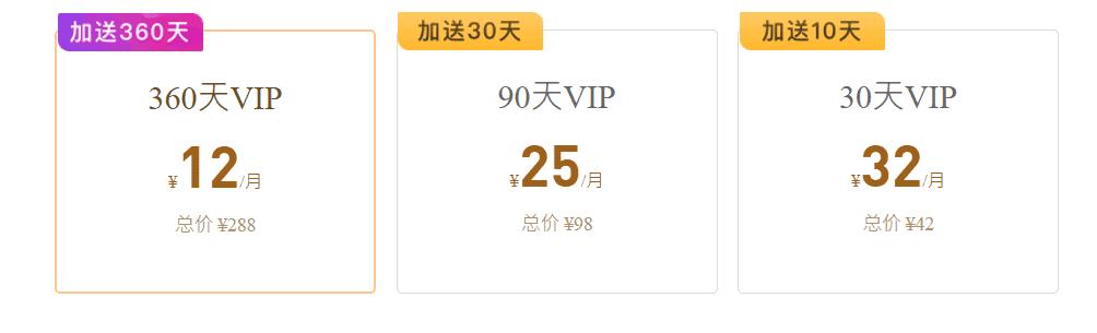 快帆 VPN 費用