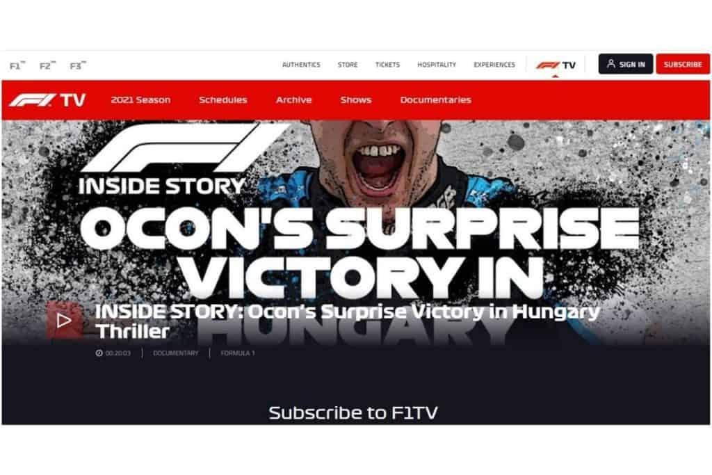 F1 TV Pro VPN 推薦
